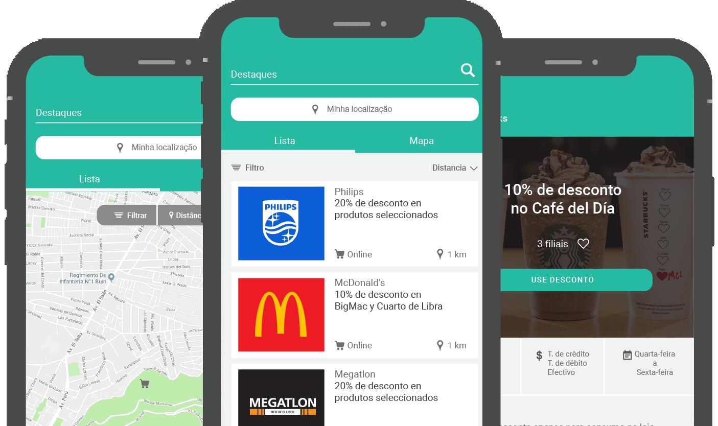 Aplicativo mobile com geolocalização