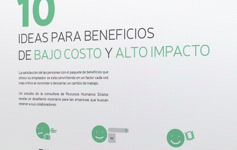 10 ideas para beneficios de bajo costo y alto impacto