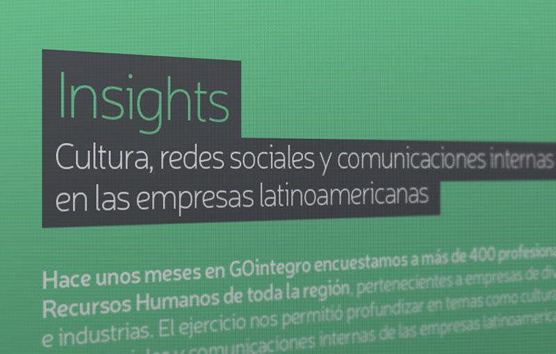 Insights: Cultura, Redes Sociales y Comunicaciones Internas en las empresas latinoamericanas